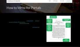 Portals of Prayer - Write For Portals - Concordia Publishing House