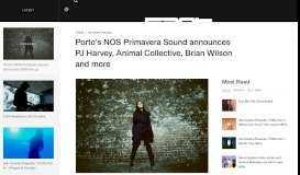 Porto's NOS Primavera Sound announces 2016 line-up