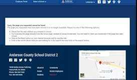 PowerSchool Parent Portal Information - Anderson School District Two