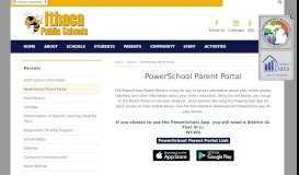 PowerSchool Parent Portal   Parents - Ithaca Public Schools