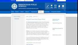 Powerschool / PowerSchool - Birmingham Public Schools