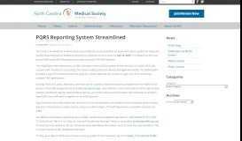 PQRS Reporting System Streamlined | North Carolina Medical Society
