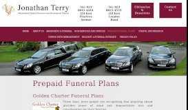 Prepaid Funeral Plans - Jonathan Terry