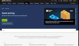 Pricing Overview—How Azure Pricing Works | Microsoft Azure