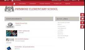 Primrose Elementary School / Homepage - Somers Central School ...