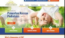 Princeton Nassau Pediatrics | Monroe, NJ | Pediatricians