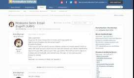 Probleme beim Email Zugriff (IUBH) - IUBH Internationale ...