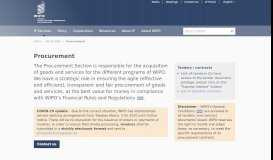 Procurement - WIPO