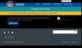 Property Tax Portal - Cook County
