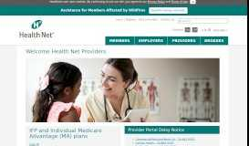 Providers - Health Net