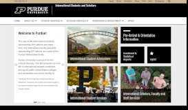 Purdue ISS - Purdue University