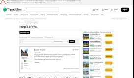 Purple Travel - Orlando Forum - TripAdvisor