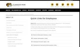 Quick Links for Employees   EPHS   EPCUSD 401   About Us