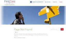 Quick Reference Guide FirstCare Provider Self-Service Portal