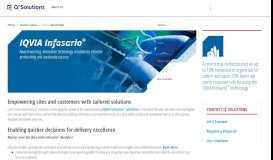 Quintiles Infosario® platform - Q2 Solutions