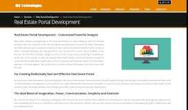 Real Estate Web Portal Designing & Development Company USA