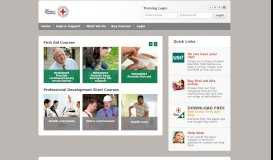 Red Cross Training Services Online Training