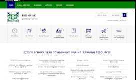 Red Hawk Elementary School / Homepage