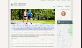 Redeemer Pulmonary Associates: Home