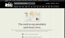 REI Co-op Mastercard gives back | REI Co-op