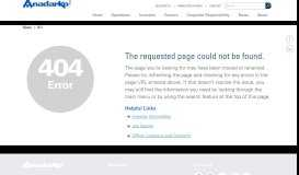 Remote Access Solutions - Anadarko