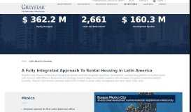 Rental Housing Latin America   Greystar