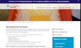 Research - Animal Approvals - Icahn School of Medicine at Mount Sinai