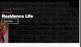 Residence Life - Accommodation - University of Essex