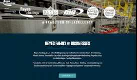 Reyes Holdings - Home