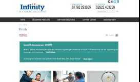 Ricoh - Infinity Documents Solutions