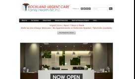 Rockland Urgent Care Family Health NP, P.C. - Welcome to Rockland ...