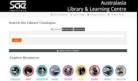 SAEQ Library - Databases - SAE Institute