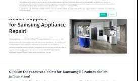 Samsung Dealer Portal - OnPoint Warranty