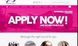 Sandwell College: Home