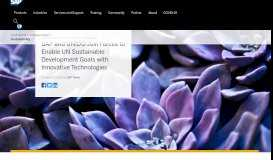 SAP and UNIDO Join Forces to Enable UN Sustainable Development ...