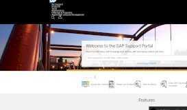 SAP Support Portal Home