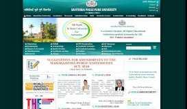 Savitribai Phule Pune University, One of the Premier Universities in ...
