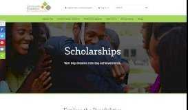 Scholarships - Community Foundation for Greater Atlanta
