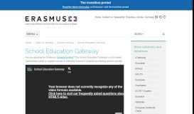 School Education Gateway | Erasmus+