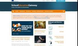 School Education Gateway - Homepage