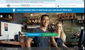 Search for jobs, find the right staff