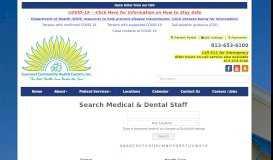 Search Medical & Dental Staff - Suncoast Community Health Centers ...