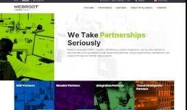 Security Partner Programs | Webroot