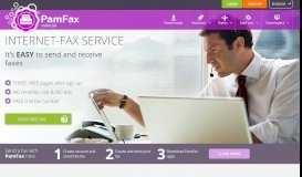 Send and receive faxes easily with the PamFax fax software solution ...