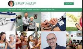 Sheremet Gashi, MD: Internal Medicine: North Arlington, NJ
