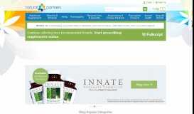 Shop all new products & brands - Natural Partners