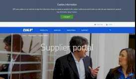 SKF Supplier Portal - SKF.com