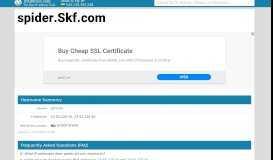 Skf.com - SKF Captive Portal