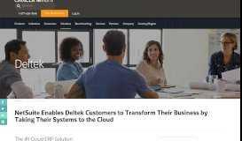 Solutions for Deltek Users - NetSuite