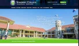 Somerset College | Gold Coast | Independent Primary and Secondary ...
